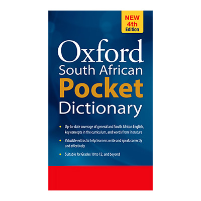 OXFORD SA POCKET DICTIONARY 4E - NEW EDITIONA