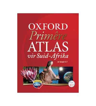 OXFORD PRIMERE ATLAS VIR SUID AFRICA