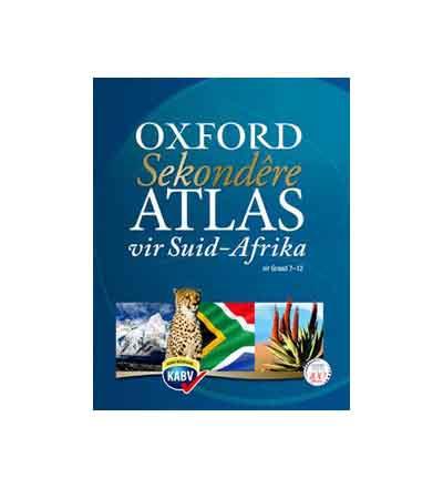 OXFORD SEKONDERE ATLAS VIR SUID AFRICA