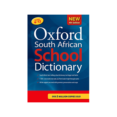 OXFORD SA SCHOOL DICTIONARY 3RD PAPERBACK