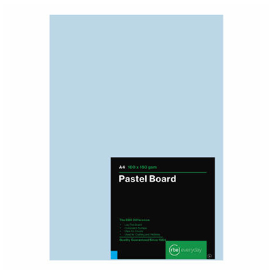 RBE A4 PASTEL BOARD PACKS