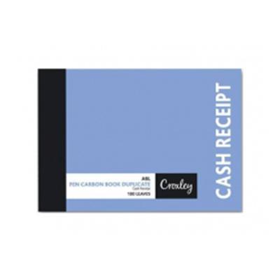 CROXLEY A6L DUPLICATE CASH RECEIPT CARBON BOOK