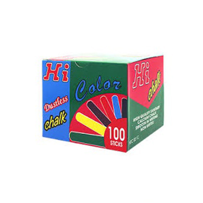 CHALK DUSTLESS (PACK OF 100)