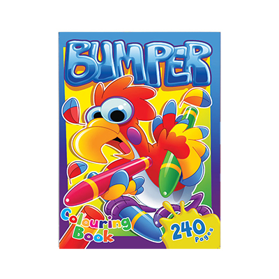 BUMPER COLOUR & ACTIVITY BOOK 240 PG