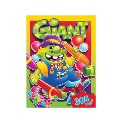 GIANT COLOURING BOOK 304 PG