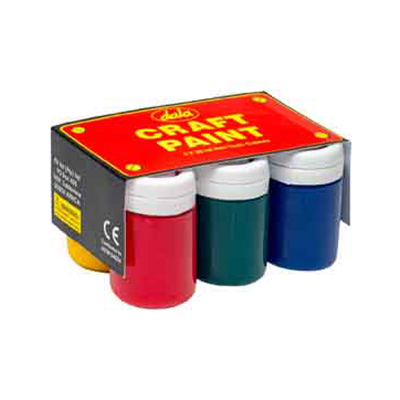 DALA CRAFT PAINT KIT 6x30ML