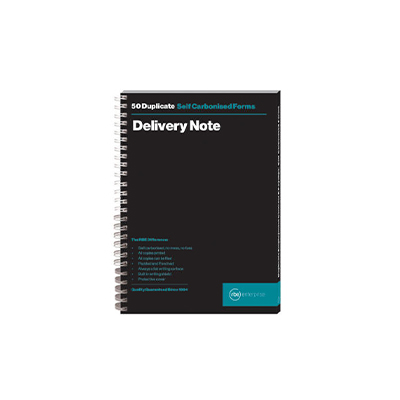 RBE A5 DUPLICATE DELIVERY NOTE PAD 50 SETS