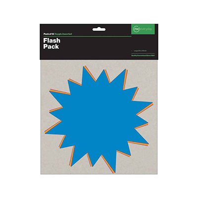 PAPERSMART FLASH PACKS - LARGE