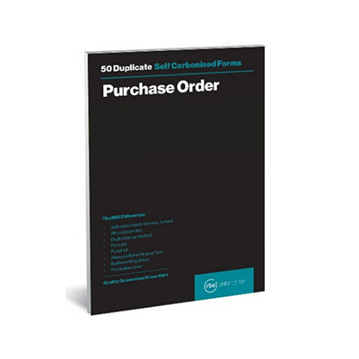 RBE A4 DUPLICATE ORDER PAD 50 SETS
