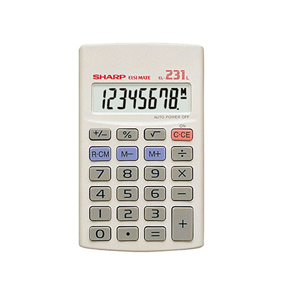 SHARP EL231 CALCULATOR