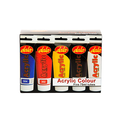 DALA STUDENT ACRYLIC KIT 5x75ML