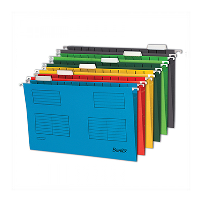 BANTEX SUSPENSION FILES FOOLSCAP (PACK OF 25)