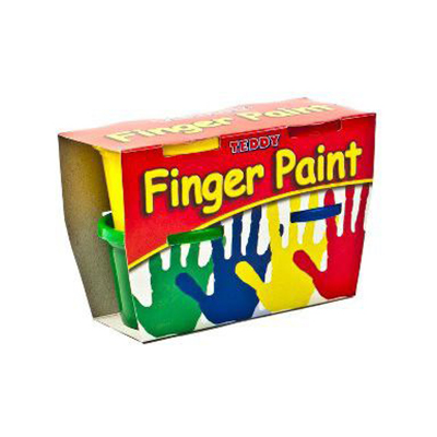 DALA FINGER PAINT KIT 4X100ML