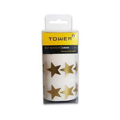 TOWER LARGE GOLD STARS