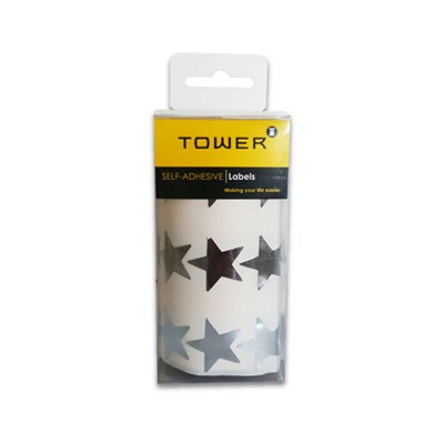 TOWER LARGE SILVER STARS