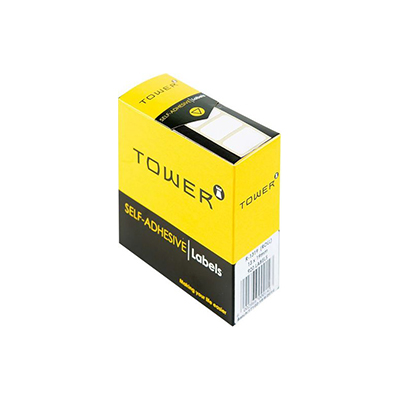 TOWER WHITE ROLL LABELS