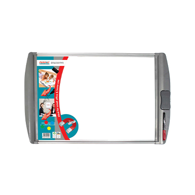 PARROT WHITEBOARD SLIMLINE MAGNETIC 600X450MM